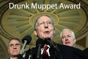 Politics Drunk Muppet Awards